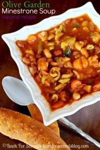 Olive Garden Minestrone Soup Copycat Recipe