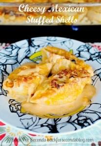 Cheesy Mexican Stuffed Shells