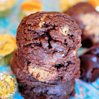 Reese's Hot Fudge Cookies