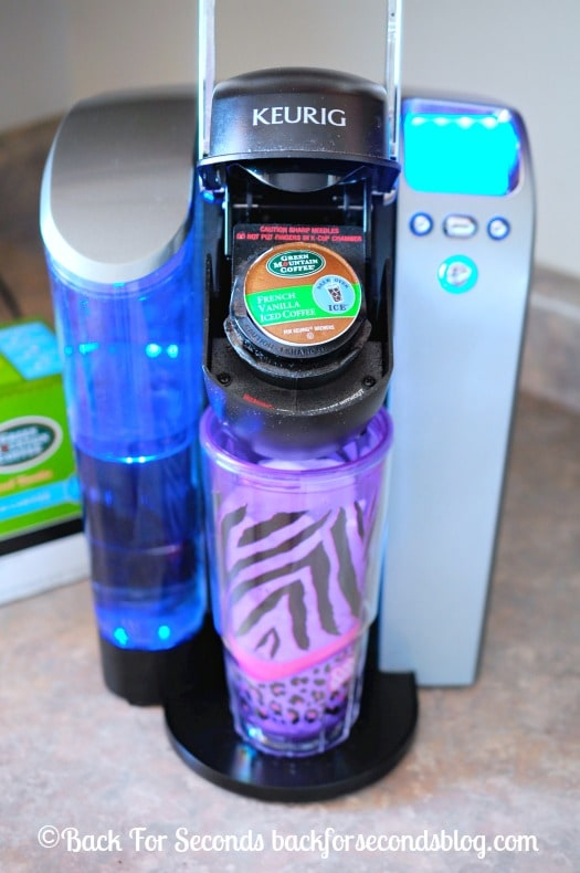 How to make Brew Over Ice in a Keurig  #BrewItUp #BrewOverIce  #coffee#shop