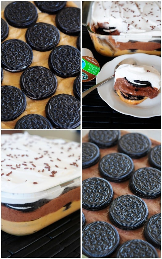 How to Make The BEST Icebox Cake! #BrewItUp #BrewOverIce #oreos #coffee #shop