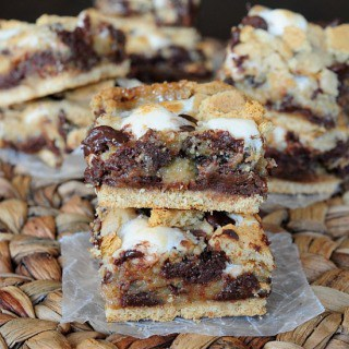S'mores Cookie Bars FG