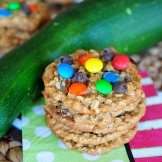 Zucchini Monster Cookies FG