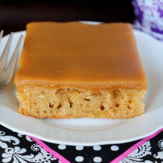peanut butter sheet cake FG