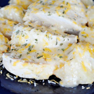 Cheesy Ranch Chicken and Potatoes