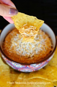 Chili Spiced Cheese Dip