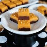 Salted Butterscotch Chocolate Fudge