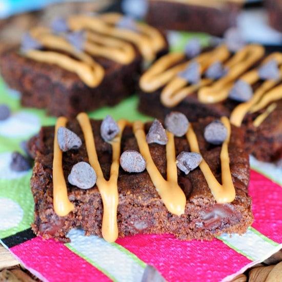 chocolate peanut butter bars FG