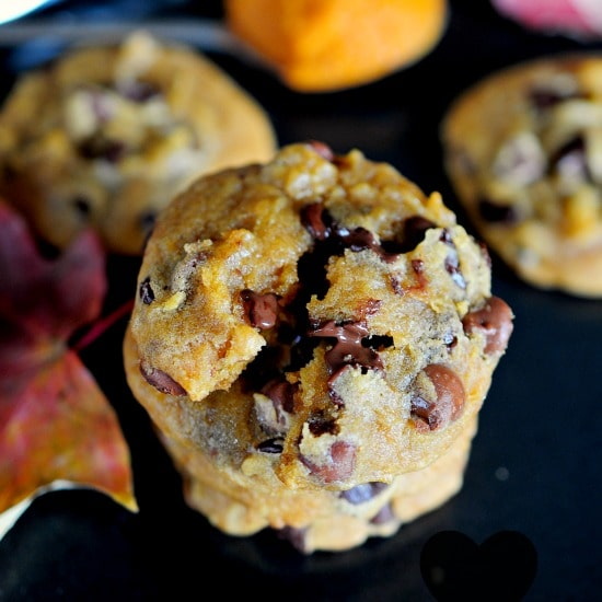 Best Chewy Peanut ButterPumpkin Chocolate Chip Cookies
