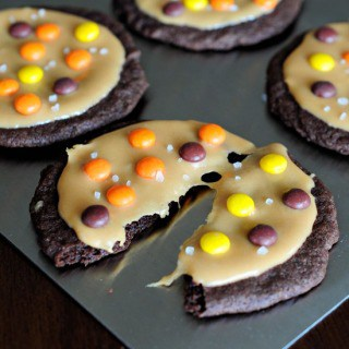 Salted Caramel Reeses Cookies FG