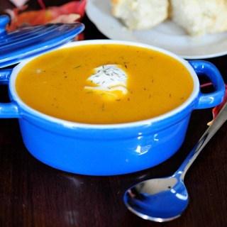 butternut squash soup FG