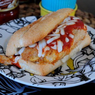easy chicken parmesan FG