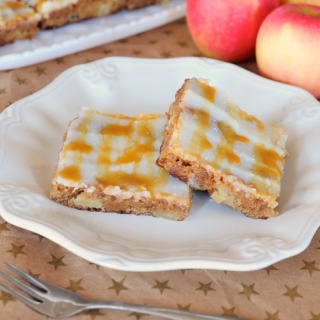 Caramel Apple Sheet Cake FG