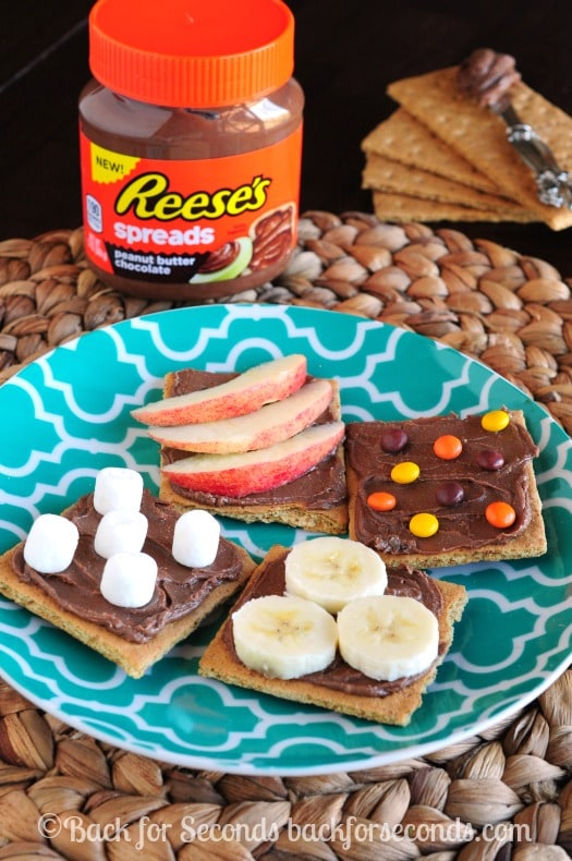 Reese's Spreads Snack Ideas