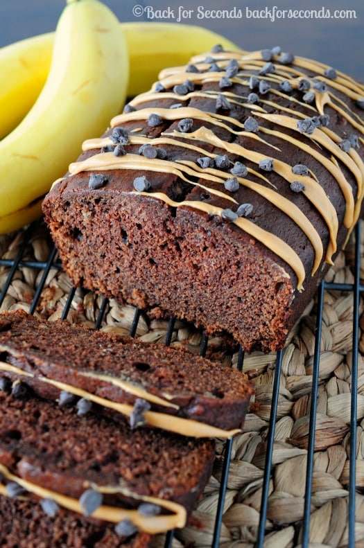 ... chocolate banana marble bread skinny chocolate caramel banana bread