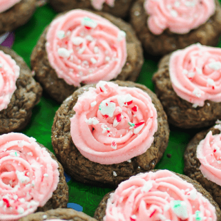 Candy Cane Mocha Cookies  FG