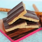 No Bake Pretzel Peanut Butter Bars