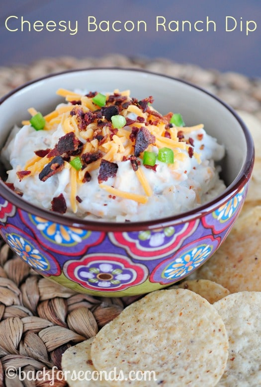 Cheesy Bacon Ranch Dip Recipe