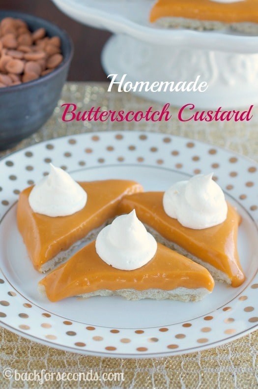 How to Make Butterscotch Pudding from Scratch