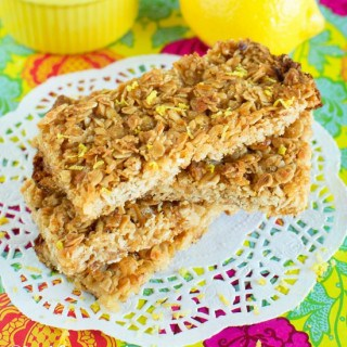 Lemon Coconut Granola Bars FG