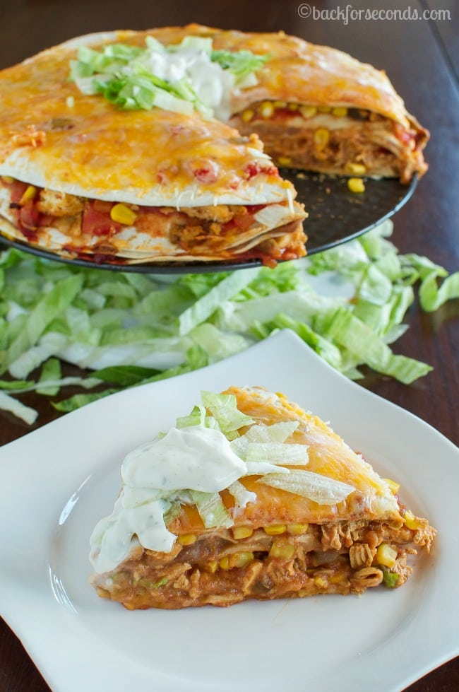 CHeesy Chicken Taco Bake