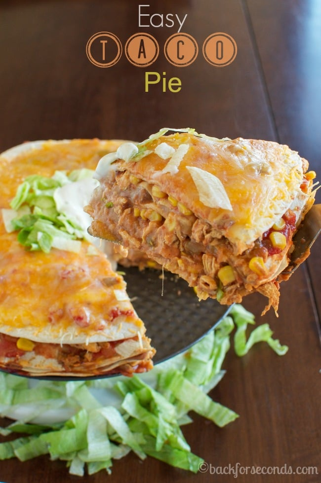 Easy Mexican Chicken Stack