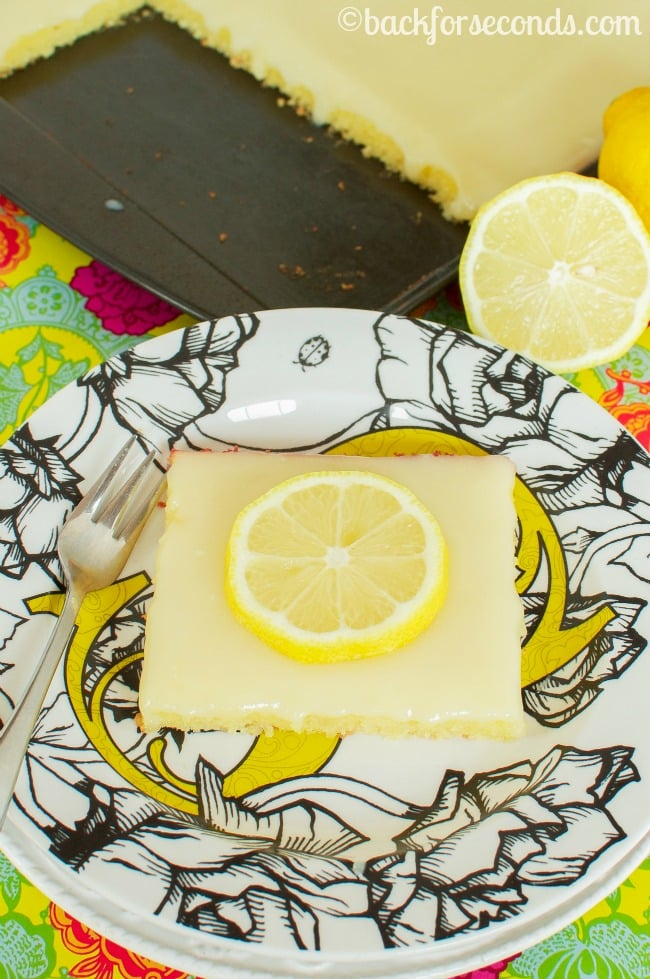 Homemade Lemon Sheet Cake
