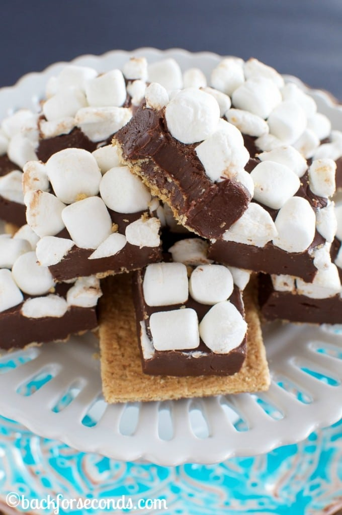 Easy S'mores Fudge