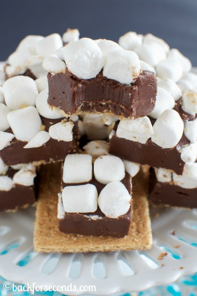 No Fail S'mores Fudge - so addicting!!!