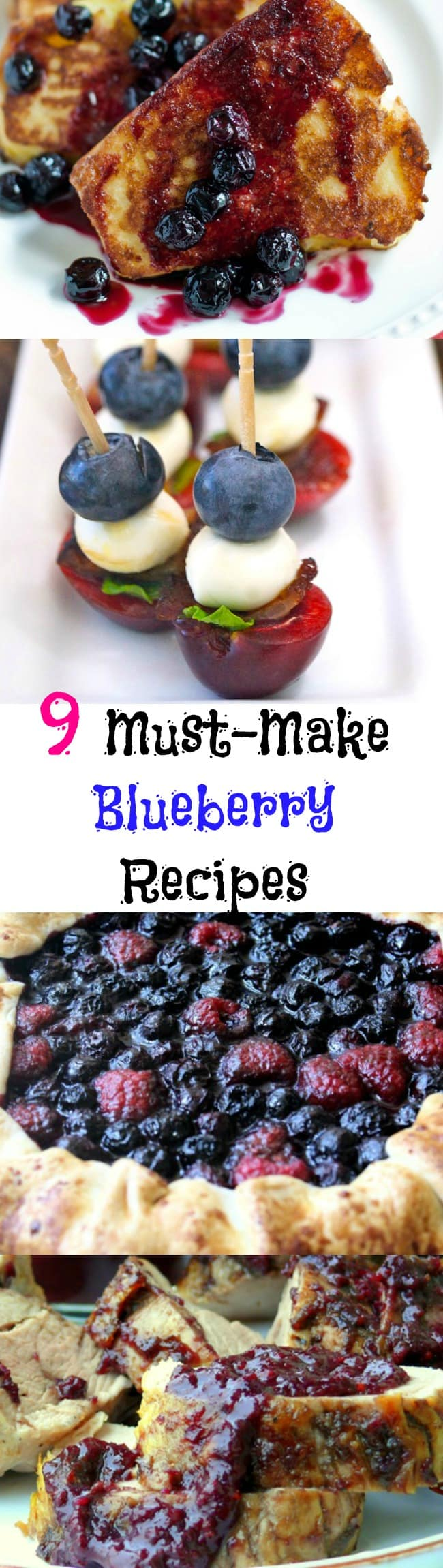 9 Unique Must-Make Blueberry Recipes
