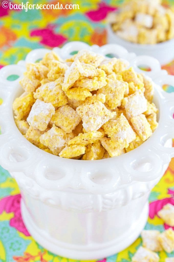 Easy, No Bake Lemon Pie Chex Mix