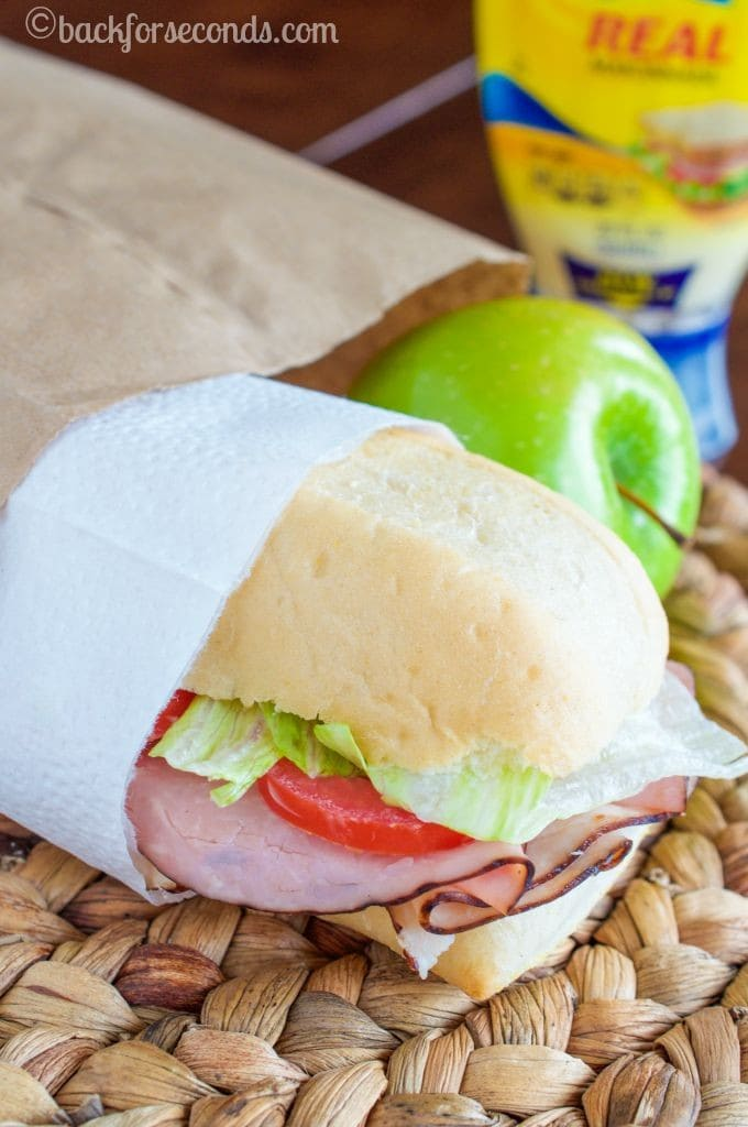 Ham and Turkey Deluxe Sandwich - a Lunchbox Favorite!_-4