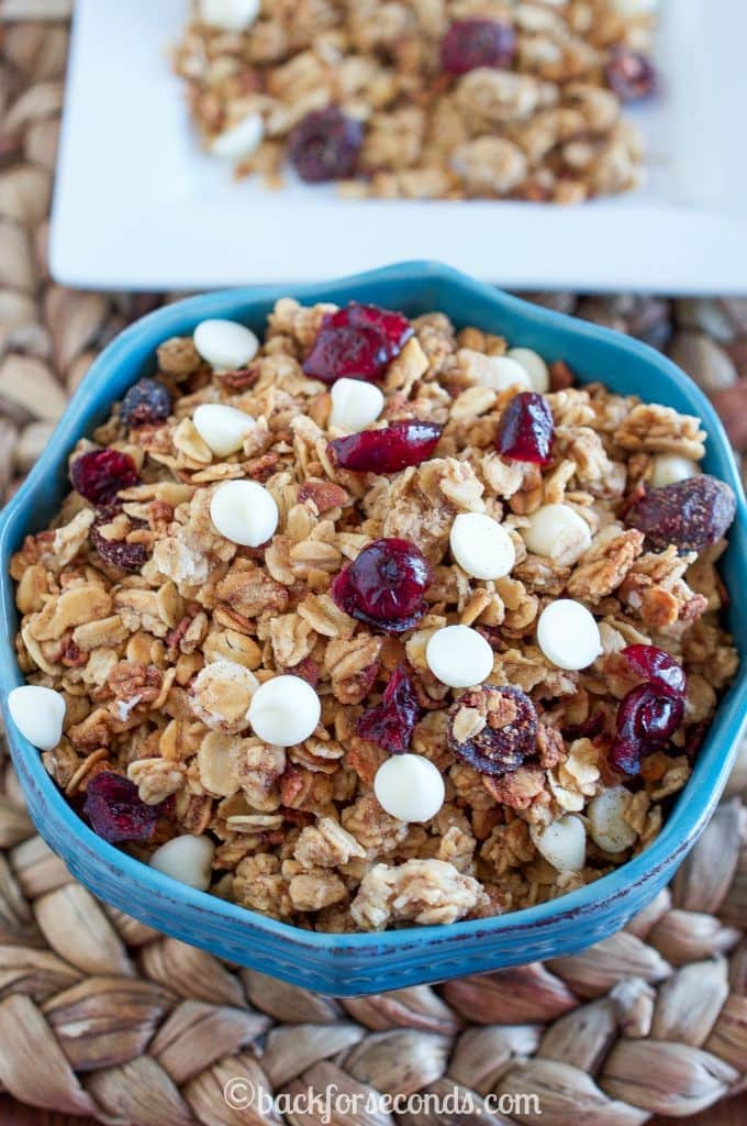 Slow Cooker Granola Recipe
