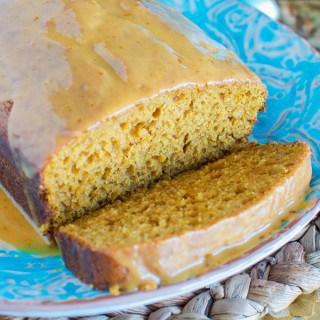 Best Pumpkin Bread with Pumpkin Glaze