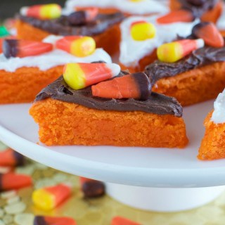 Easy Candy Corn Cookie Bars