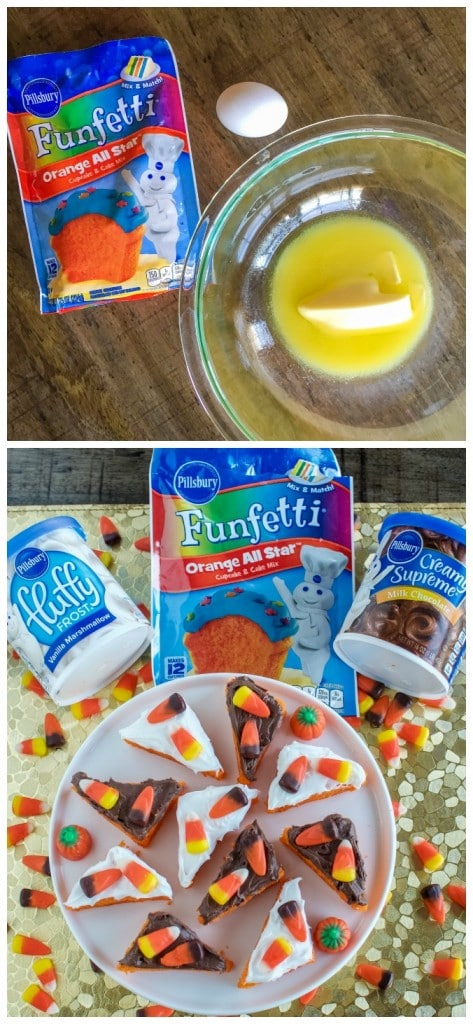 How to Make Candy Corn Cookie Bars