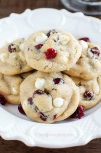 Best White Chocolate Cranberry Cookies