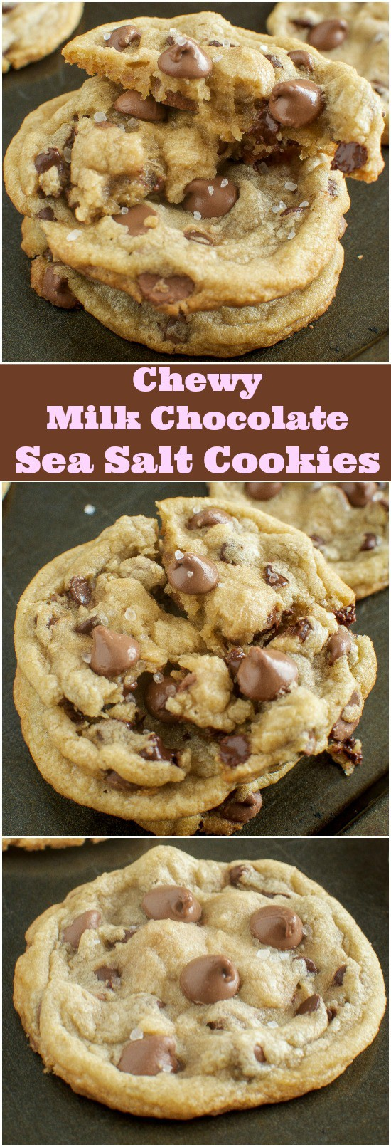 Chewy Milk Chocolate Sea Salt Cookies Page 2 Of 2 Back