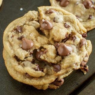 Chewy Milk Chocolate Sea Salt Cookies