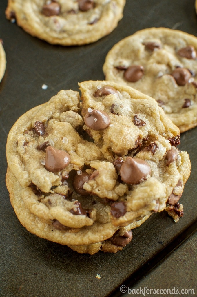 Extremely Chewy Chocolate Chip Cookies