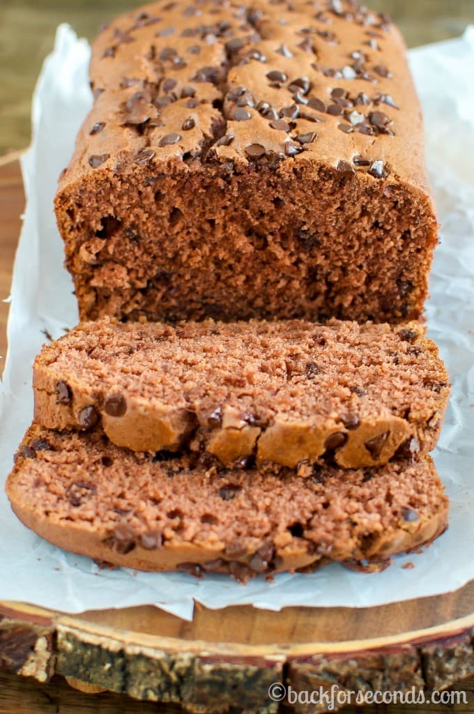 Easy Chocolate Chip Mocha Quick Bread Recipe