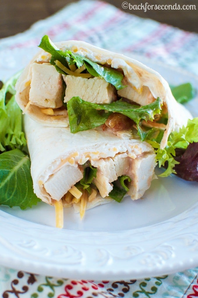 Quick and Easy Creamy Chicken Roll Up