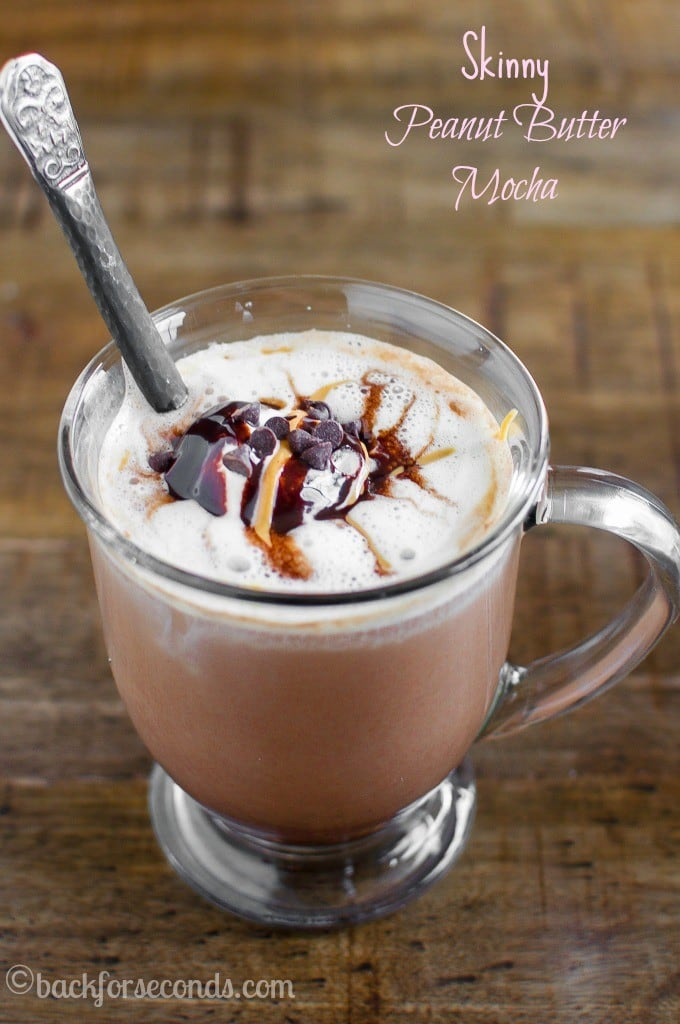 Skinny Peanut Butter Mocha - gourmet coffee a home!