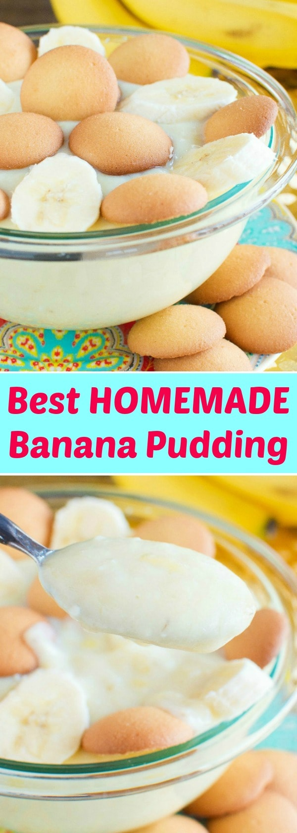 Forget the store bought box - this is the Best (easy) Homemade Banana Pudding Recipe!