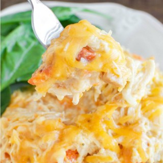 Easy Cheesy Crockpot Chicken