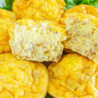 Cheesy Egg Muffins