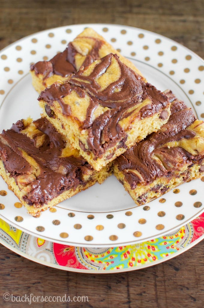 Nutella Pumpkin Swirl Snack Cake - Back for Seconds