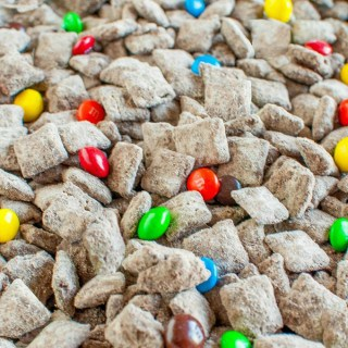Peanut Butter Brownie M&M's Muddy Buddies