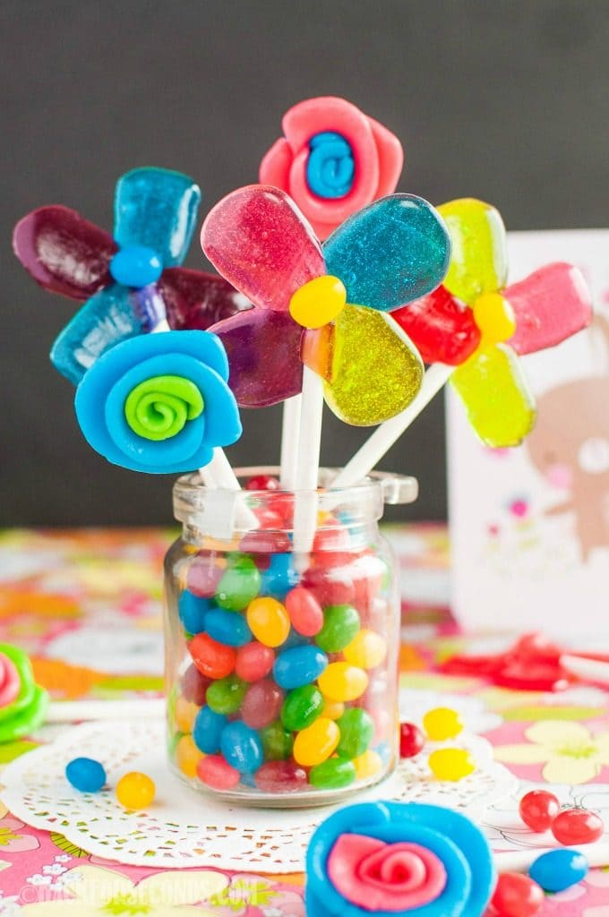 Easy Homemade Lollipops and Edible