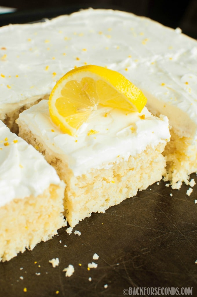 lemon sheet cake lemon sheet cake with lemon cheese frosting back 5490